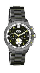 navajo 腕時計(メンズ) DOLCE&GABBANAドルチェ&ガッバーナウォッチ ナバジョD&G TIME WATCH NAVAJOクロノグラフ ブラックメタルバンド リストウォッチ腕時計 アナログドルガバ ディー&ジー メンズ