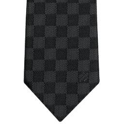 ルイヴィトン ネクタイ LOUIS VUITTON NECKTIEルイヴィトン ネクタイブラック×ダークグレーブロック ダミエ チェッククラヴァット ダミエ クラシックノワール ルイビトンネイビー ブルー ライトブルー ライトピンクメンズスーツに似合う スーツスタイル