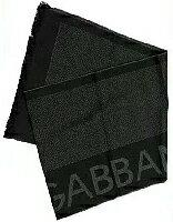 ドルガバ マフラー(レディース) D&G DOLCE&GABBANA ドルガバマフラー ブラック×グレー N10220-N0036マフラー ネイビー×グレー N10220-N0089ドルチェ&ガッバーナ ドルチェアンドガッバーナ