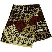 ドルガバ マフラー(レディース) D&G DOLCE&GABBANA ドルガバマフラー ベージュ×キャラメル×ブラウン N20152-M0682ドルチェ&ガッバーナ ドルチェアンドガッバーナブラウン系 ブラック系チェックポップなロゴが可愛い!巻き方次第で色々な表情に