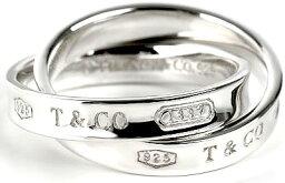 ティファニー 1837記念 指輪(レディース) Tiffany&Co. ティファニー 指輪1837 インターロッキング サークルリングスターリング シルバーINTERLOCKING CIRCLE RING 4-9約 7号9号11号14号17号19号時を超えて愛されるティファニーの人気コレクション