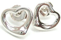 ティファニー ピアス(レディース) Tiffany&Co. ティファニーオープンハートピアス ミニスターリング シルバー925アクセサリー エルサペレッティ OPEN HEART MINI pierced earring