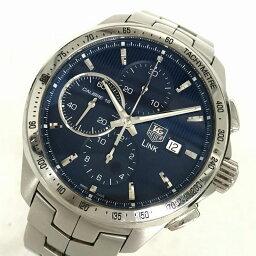 タグホイヤー リンク 腕時計(メンズ) TAG-HEUER タグ・ホイヤー リンククロノ ディカプリオ 世界限定モデル CAT2015.BA0952 メンズ オートマチックデイト 腕時計 管理YI10858