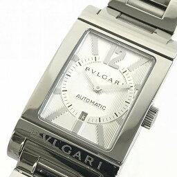 レッタンゴロ 腕時計(メンズ) BVLGARI/ブルガリ レッタンゴロ RT45S 自動巻きメンズ腕時計 デイト 動作品 管理YO12480