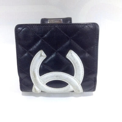 CHANEL【シャネル】 USED-C A26720 二つ折り財布 カンボン n17-3076