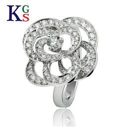 シャネル 指輪 【新古品】シャネル/CHANEL / ジュエリー リング 指輪 レディース / カメリア コレクション ホワイトゴールド ダイヤモンド ロレンツ バウマー K18WG / 花 フラワー J2579