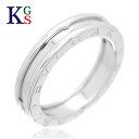 ブルガリ Bzero1 指輪(レディース) 【ギフト品質】【SPECIAL梱包】【名入れ】【5号〜14号】ブルガリ/BVLGARI B.zero1 ビーゼロワン リング / 指輪 750 K18WG ホワイトゴールド レディース メンズ 誕生日