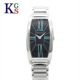 ティファニー 腕時計(レディース) 【ギフト品質】ティファニー/Tiffany&co レディース 腕時計 ジェメア クオーツ ステンレススチール ブラック文字盤 Z6401.10.10A19A00A 1227