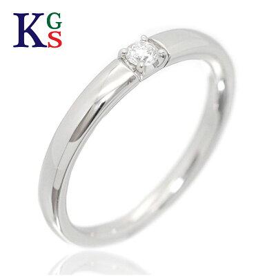 【新古品】ヨンドシー/4°C レディース ジュエリー パーフェクトプラチナ 1Pダイヤリング/指輪 プラチナ Pt950