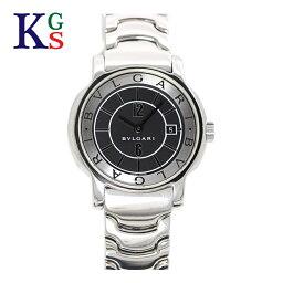 ソロテンポ 【ギフト品質】ブルガリ/BVLGARI レディース 腕時計 ソロテンポ 黒文字盤 シルバーインデックス ステンレススチール クオーツ ST29S
