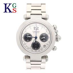 カルティエ パシャ 腕時計(メンズ) 【ギフト品質】カルティエ/Cartier メンズ 腕時計 パシャC クロノグラフ シルバー文字盤 自動巻き W31048M7