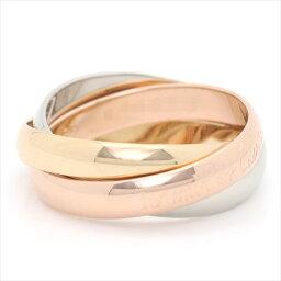 カルティエ 指輪 【新古品】カルティエ/Cartier / ジュエリー リング 指輪 レディース メンズ / トリニティリング 3カラー ゴールド YG/WG/PG 750/K18 3連 B4086100