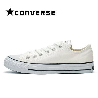 【あす楽】【即納】 送料無料 コンバース スニーカー レディース メンズ オールスター カラーズ キャンバス シューズ ローカット 黒ライン ホワイト 靴 CONVERSE ALL STAR COLORS OX WHITE/BLACK 32860660