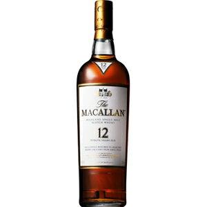 サントリー ザ・マッカラン12年 40度(正規品)700ml [箱入]※12本まで1個口配送可能<瓶洋酒><ウイスキー>[1707YF][UN]