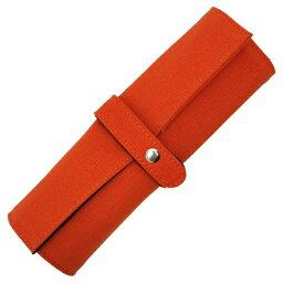 デルフォニックス 【DELFONICS/デルフォニックス】ロールペンケース 帆布 【オレンジ】 500131-144 【あす楽対応】