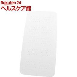 浴槽・浴室内マットのギフト クロイデックス バスマット M ホワイト(1コ入)【Croydex(クロイデックス)】【送料無料】