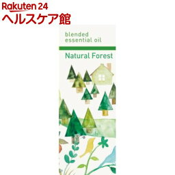 生活の木 アロマグッズ ブレンドエッセンシャルオイル ナチュラルフォレスト(30mL)【生活の木 エッセンシャルオイル】