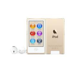 iPod nano 【送料無料】Apple(アップル)iPod nano 16GB 第7世代 2015年モデル ゴールド MKMX2J/A