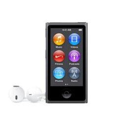 iPod nano 【送料無料】Apple(アップル)iPod nano 16GB 第7世代 2015年モデル スペースグレイ MKN52J/A