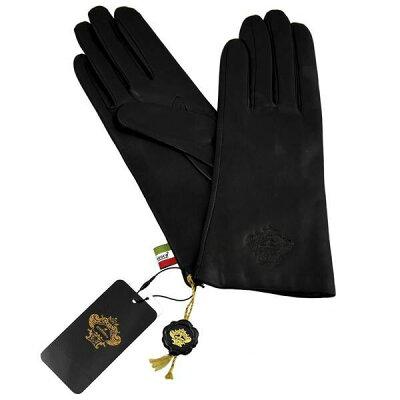 オロビアンコ OROBIANCO レディース手袋 ORL-1582 Leather glove 羊革(ラム)/ウール BLACK サイズ:7(20cm) ブラック 黒 [ギフト プレゼント ラッピング無料 お祝い クリスマス]