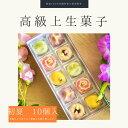 上生菓子 【 初夏 】10個入 高級 上生菓子 練り切り 期間限定 お取り寄せ 個包装 送料無料