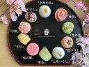上生菓子 【 春 】10個入 高級 上生菓子 練り切り 期間限定 お取り寄せ 個包装 送料無料