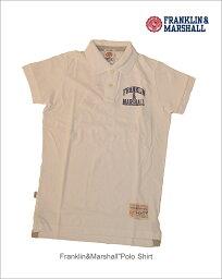 """フランクリンマーシャル 【FRANKLIN&MARSHALL""""ポロシャツ/white】【フランクリン&マーシャル正規取り扱い】"""
