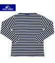 セントジェームス SAINT JAMES OUESSANT/GUILDOセントジェームス フランス製 ボートネック ボーダーTシャツ