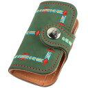 KC,s ケイシイズ キーケース スタンディング ロック ヌバック 牛皮革 4連 KSK054 ベルトボタン式 KC'S ケイシーズ ケーシーズ 本革 ブランド [メーカー取り寄せ商品][優れものA]