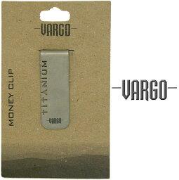 バーゴ バーゴ[VARGO]VGOT-428 チタニウムマネークリップ【財布】【ビジネス】【チタン製】【軽量】【父の日】【マネークリップ】【※ゆうメールOK】【YU_ML】【RCP】