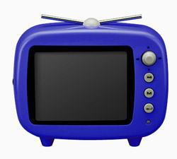 グリーンハウス デジタルフォトフレーム 【グリーンハウス(GREEN HOUSE)】3.5インチ【テレビ 型 デジタル フォトフレーム】ブルー 製品型番:GHV-DF35TVB