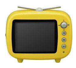 グリーンハウス デジタルフォトフレーム 【グリーンハウス(GREEN HOUSE)】3.5インチ【テレビ 型 デジタル フォトフレーム】イエロー 製品型番:GHV-DF35TVY