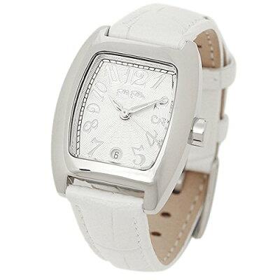 2年保証 送料無料 FolliFollie フォリフォリ 腕時計 レディース DEBUTANT デビュタント S922 WHITE ホワイト 白 レザー【smtb-m】