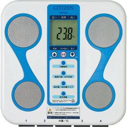 シチズン デジタル体重計 [ワンダフルDAY2倍]体重計 体組成計 デジタルヘルスメーター シチズン 体組成計付6種の測定が可能【送料無料】