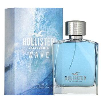 ホリスター HOLLISTER ウェーブ フォーヒム 100ml EDT SP fs 【あす楽】【香水 メンズ】