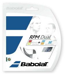 ガット BabolaT(バボラ)「RPM DUAL (RPMデュアル125/130) BA241122」硬式テニスストリング(ガット)