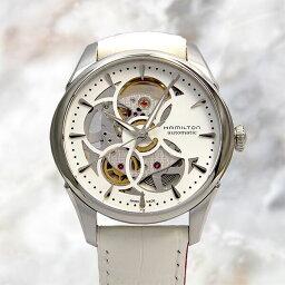ハミルトン ビューマチック 腕時計(レディース) ハミルトン ジャズマスタービューマチック スケルトン レディH32405811【数量限定特価】