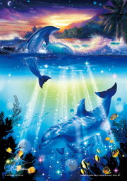 クリスチャン・ラッセン ジグソーパズル ◆希少品◆300スモールピースジグソーパズル『きらめきのシンフォニー(CRラッセン)』《廃番商品》