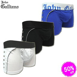 John Galliano John Galliano ジョンガリアーノ ボクサーパンツ サイドスタッズボクサー H134L13 Slip Parigamba