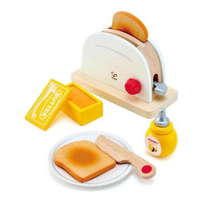 ハペ トースターセット E3148おもちゃ Hape 知育玩具 こども プレゼント 木製 ごっこ おままごと セット カワダ 【D】【★SA10】