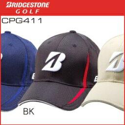 ブリヂストン BRIDGESTONE GOLF【CPG411-BK-Msize】プロモデルキャップ★Mサイズ【黒】
