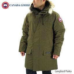 カナダグース 【送料無料】【並行輸入品】 『CANADA GOOSE-カナダグース』Langford Parka [2062M]メンズ ダウンコート パーカーコート ラングフォード パーカー ランフォード