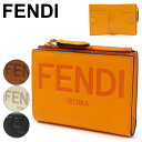フェンディ 二つ折り財布 レディース FENDI フェンディ ROMA Bifold Wallet ローマ バイフォールド ウォレット 二つ折り財布 ロゴ レディース 8M0447 AAYZ F1DZH