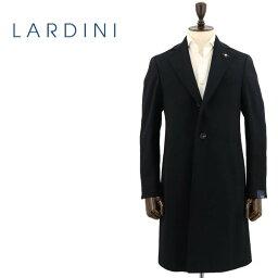ラルディーニ 【セール】ラルディーニ LARDINI メンズ ウール 段返り3B シングルチェスターコート JQ23636AQ/ILRP53693/4/5(ブラック)【返品交換不可】special priceAM