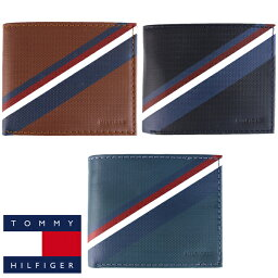 トミーヒルフィガー 二つ折り財布 メンズ トミーヒルフィガー Tommy Hilfiger 二つ折り 財布 メンズ レザー ウォレット小物 アクセサリー 小銭入れ無し
