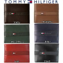 トミーヒルフィガー 財布(メンズ) トミーヒルフィガー Tommy Hilfiger 二つ折り 財布 メンズ レザー ウォレット パスケース付 小物 アクセサリー 小銭入れ無し