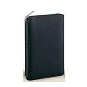レイメイ ダ・ヴィンチ グランデ ピッグスキン 聖書サイズシステム手帳 ラウンドファスナータイプ DB1402 B ブラック