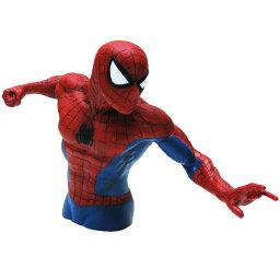 キャラクターグッズ(ぬいぐるみ・フィギュア・割れない貯金箱など) スパイダーマン バストバンク (貯金箱) アメコミ キャラクター マーベル ヒーロー 西海岸風 インテリア アメリカン雑貨