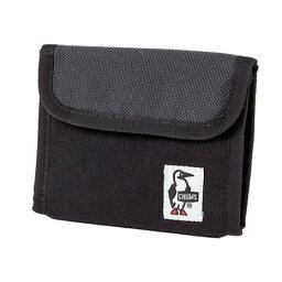 チャムス チャムス(CHUMS) トリフォルドウォレット Trifold Wallet Sweat Nylon CH60-0696-K018 Black/Charcoal (Men's、Lady's)