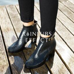 レインファブス 廃盤のため特別価格【RAINFUBS EFFECT レインファブス エフェクト】※返品交換不可 ショートレインブーツ RE-2002 レディース 女性 完全防水 ショートブーツ レインシューズ レインブーツ ブーツ ヒール 靴 オフィス 通勤 長靴 雨靴 雨 おしゃれ アウトレット セール